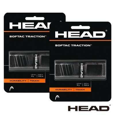 HEAD Softac Traction 球拍底層握把布(黑)-2卡 285029