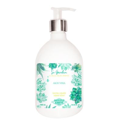 Institut Karite Paris 巴黎乳油木蘆薈花園香氛液體皂500ml