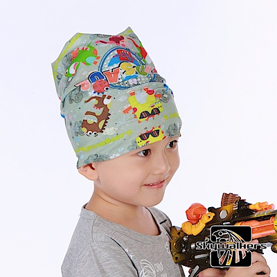 Skywalkers《搖滾恐龍》兒童魔術頭巾