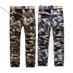 美國熊 防風 保暖 鋪棉內裡,冬季款迷彩工作褲
