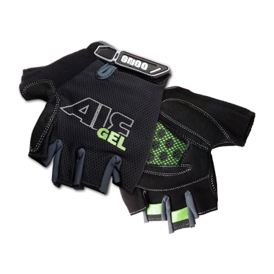 OGNS Air Gel 半指式氣墊手套 黑/綠
