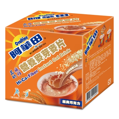 阿華田 經典巧克力麥片(25gx10包)