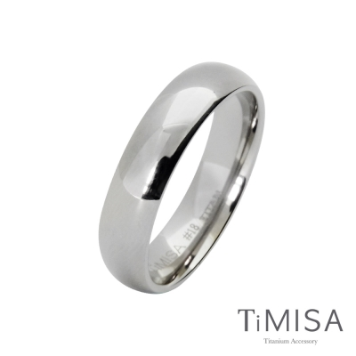 TiMISA《簡單生活》純鈦戒指