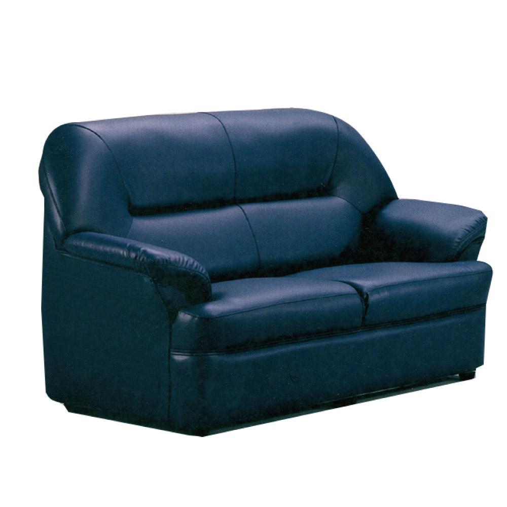 品家居 多里奇透氣皮革沙發雙人座-153x75x87cm-免組