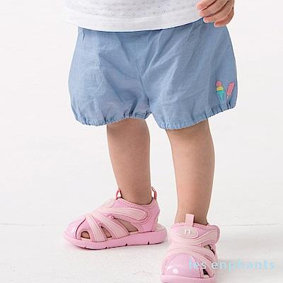 les enphants baby冰淇淋甜心球型短褲 寶藍