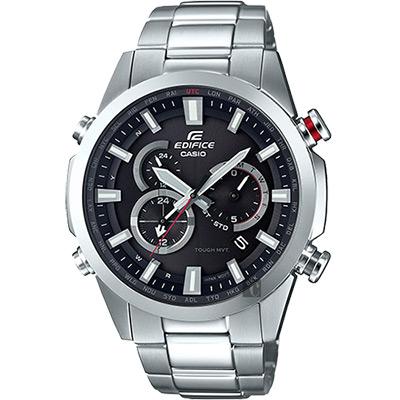 CASIO卡西歐 EDIFICE 太陽能電波賽車錶-49.1mm