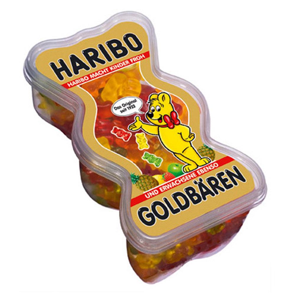 HARIBO哈瑞寶 小熊QQ水果軟糖-盒裝(450g)