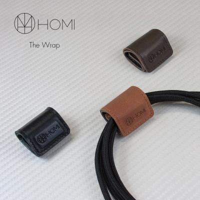 HOMI THE WRAP 磁鐵吸附羊皮捲線器 (三入)
