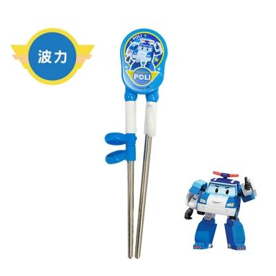 Poli - 韓國原裝進口 不鏽鋼兒童學習筷 波力