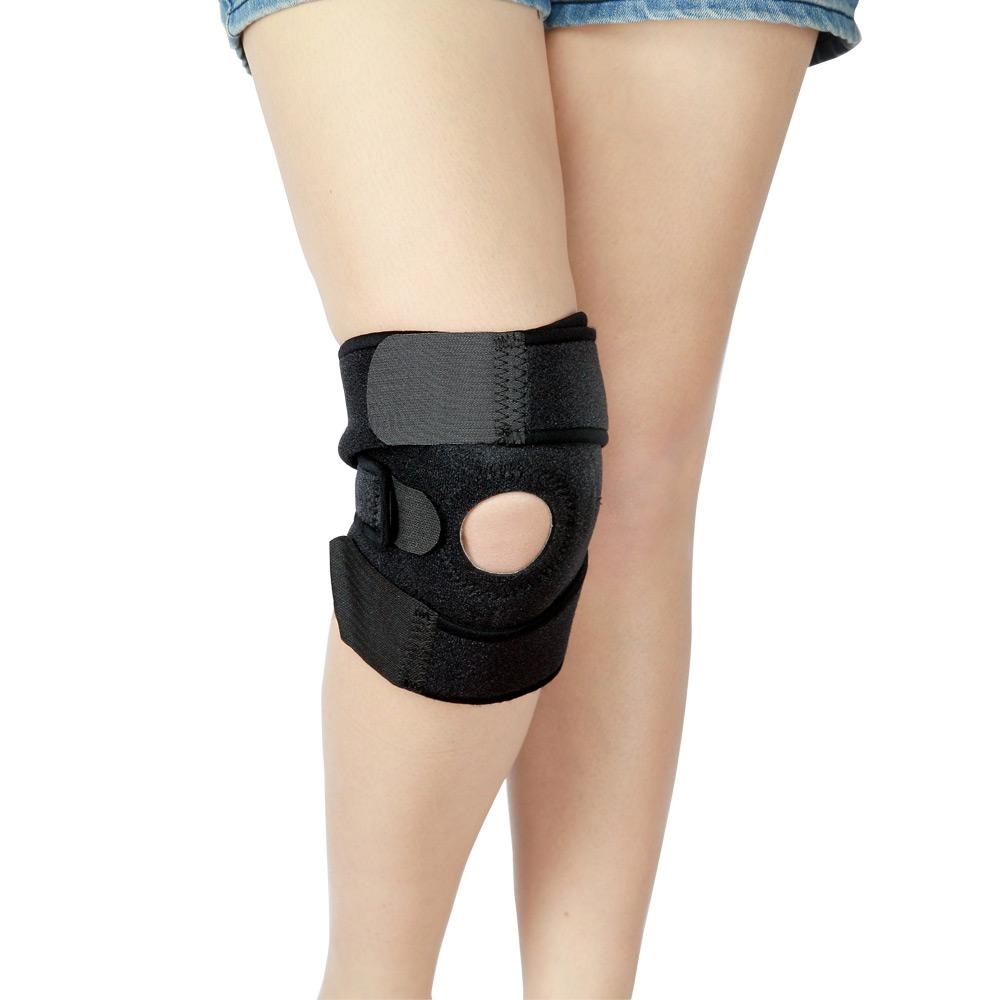 源之氣 竹炭加強型運動短護膝 2入 RM-10216