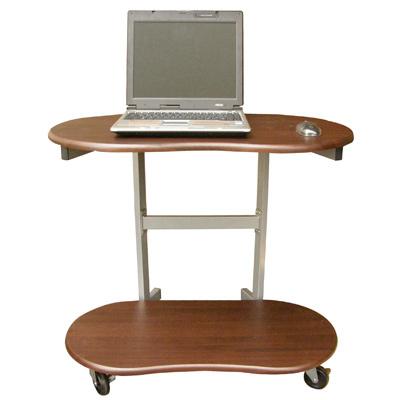 【耐重型】雙層活動式電腦桌(三色)
