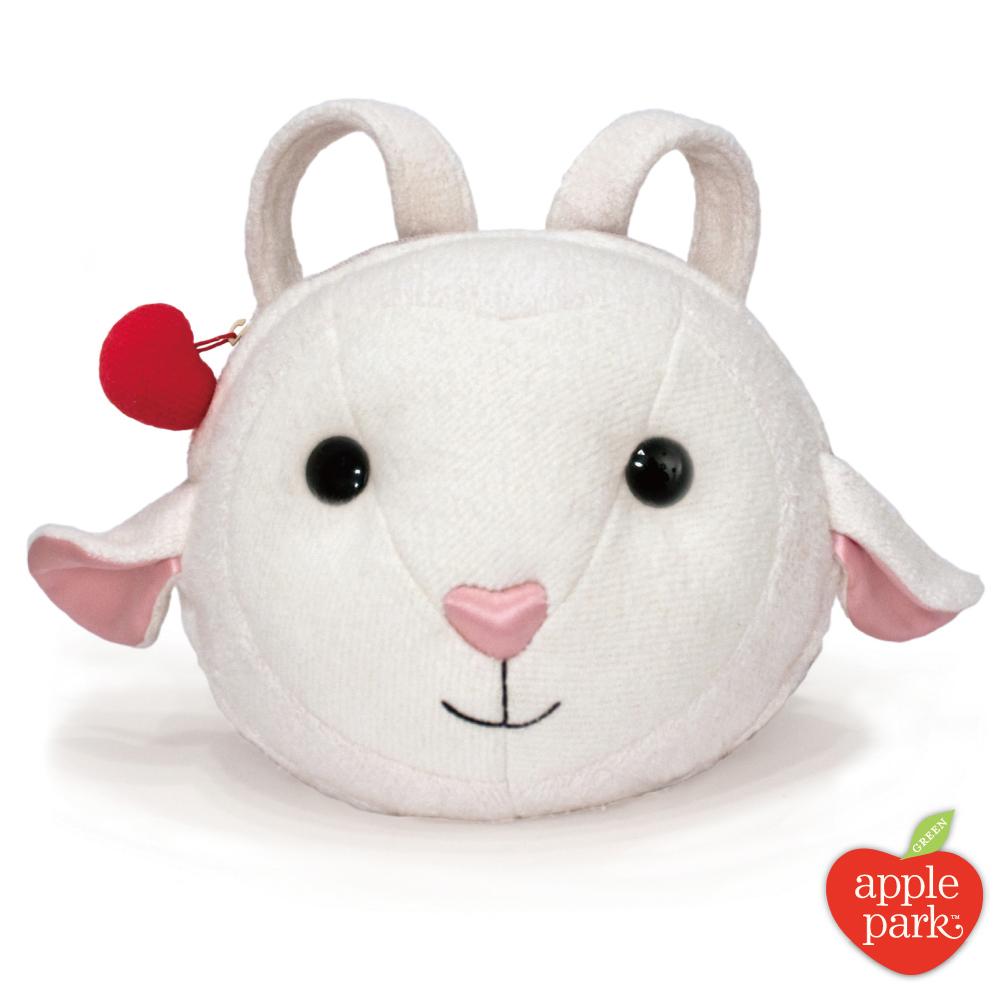 【美國 Apple Park】有機棉玩偶造型背包 - 蘋果小羊