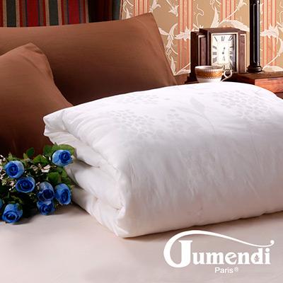 Jumendi-情葉私語 雙人特級純棉緹花手工長纖蠶絲被