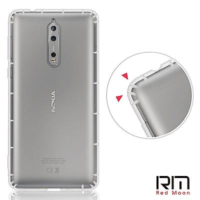 RedMoon Nokia 8 防摔透明TPU手機軟殼