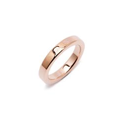 CK Calvin Klein 細緻簡約風格戒指-玫瑰金色