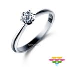 彩糖鑽工坊 19分鑽石戒指 六爪鑽戒 <br> Tender系列