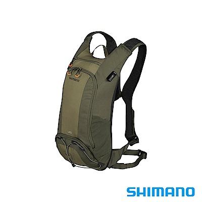 SHIMANO UNZEN 登山車後背包-無水袋 10L 橄欖綠