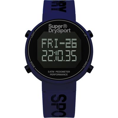 Superdry極度乾燥 街巷行頭運動腕錶-SYG 203 U/ 40 mm