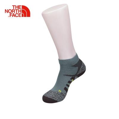 The North Face北面灰棕黃色舒適透氣戶外徒步運動襪