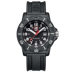 LUMINOX 雷明時Black Ops 8880黑夜行動系列腕錶-黑x白時標/45mm