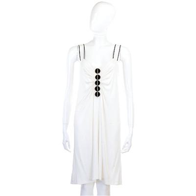 PHILOSOPHY 白色圓片綴飾洋裝