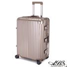 ABS愛貝斯 M3系列 24吋鋁框海關鎖行李箱(香檳金)99-051B