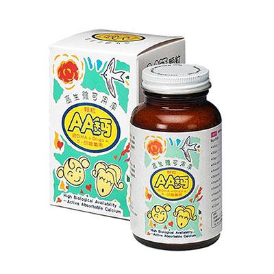 AA鈣杏懋 孩童AA鈣顆粒(100gm/瓶) 2入組
