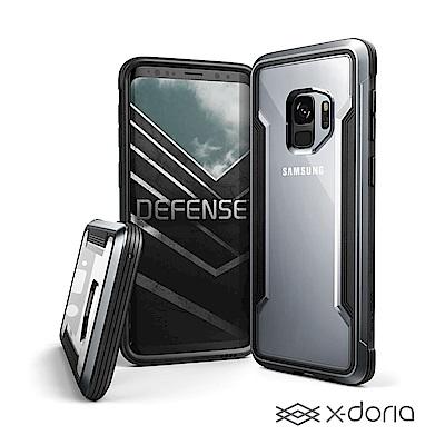 x-doria SAMSUNG S9 刀鋒極盾防摔手機殼 - 尊爵黑