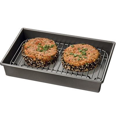 KitchenCraft Chicago附架+不沾烤盤(24.5cm)
