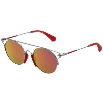 Calvin Klein- 水銀面太陽眼鏡(槍色)CKJ167S-020