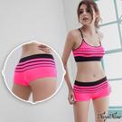 內褲 無縫中低腰平口內褲S-XL(螢光粉) Naya Nina