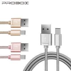 PROBOX Type-C USB3.1高速編織傳輸充電線 100cm