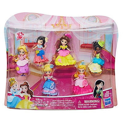 迪士尼公主系列 -迷你公主6入