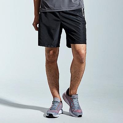 【AIRWALK】標籤口袋設計風衣短褲-黑色