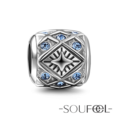 SOUFEEL索菲爾 925純銀珠飾 信心 串珠