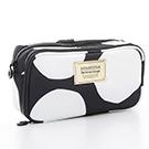 VOVAROVA空氣包-眼妝化妝包-波卡圓點(黑)