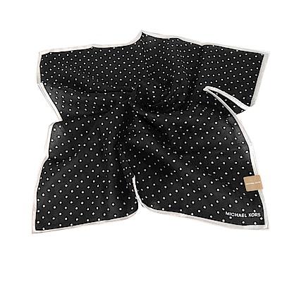 MICHAEL KORS星星帕巾-小/黑