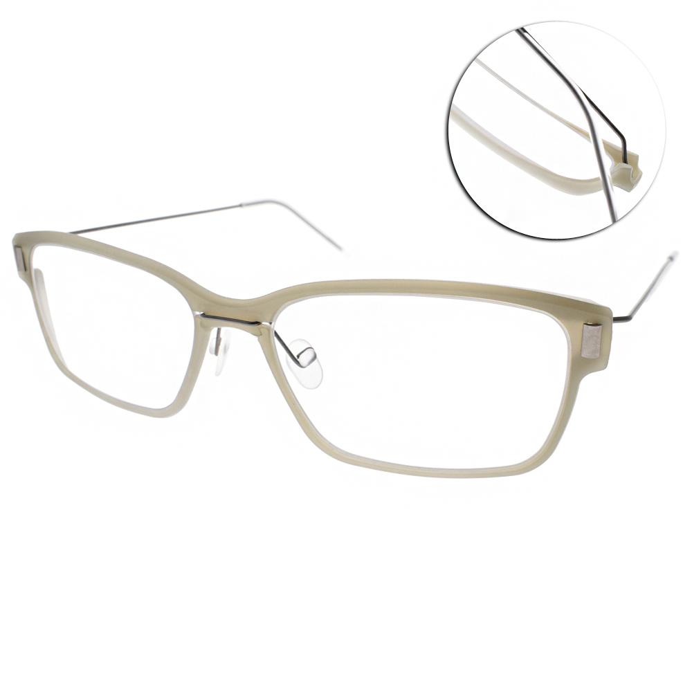 MARKUS T眼鏡 無螺絲眼鏡結構/淡灰-銀#M3 349 510-335