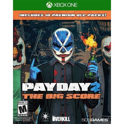 劫薪日 2 大幹一票 Payday 2 -XBOX ONE 英文美版
