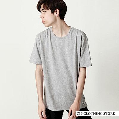 長版T恤(4色) ZIP日本男裝