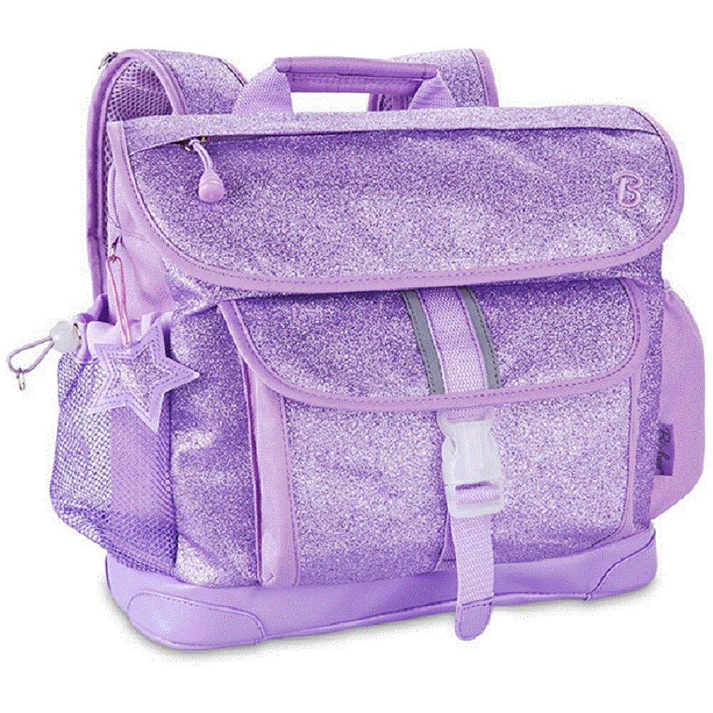 美國Bixbee - 閃采系列夢幻紫中童輕量減壓背書包