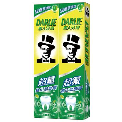 黑人超氟強化琺瑯質牙膏-先進潔齒配方 250gX2入