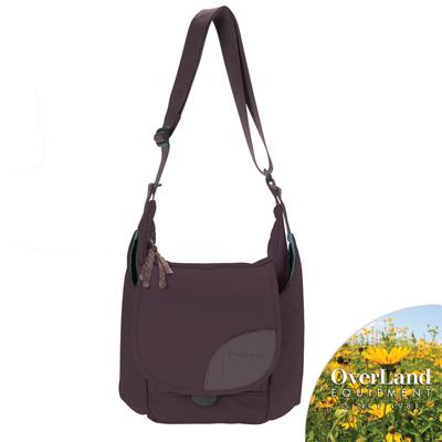 OverLand-Donner側背包-藍莓紫