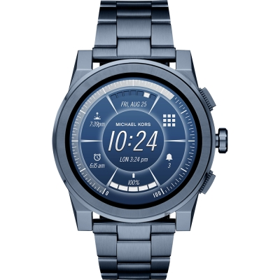 Michael Kors Access 觸控智能手錶-藍/47mm