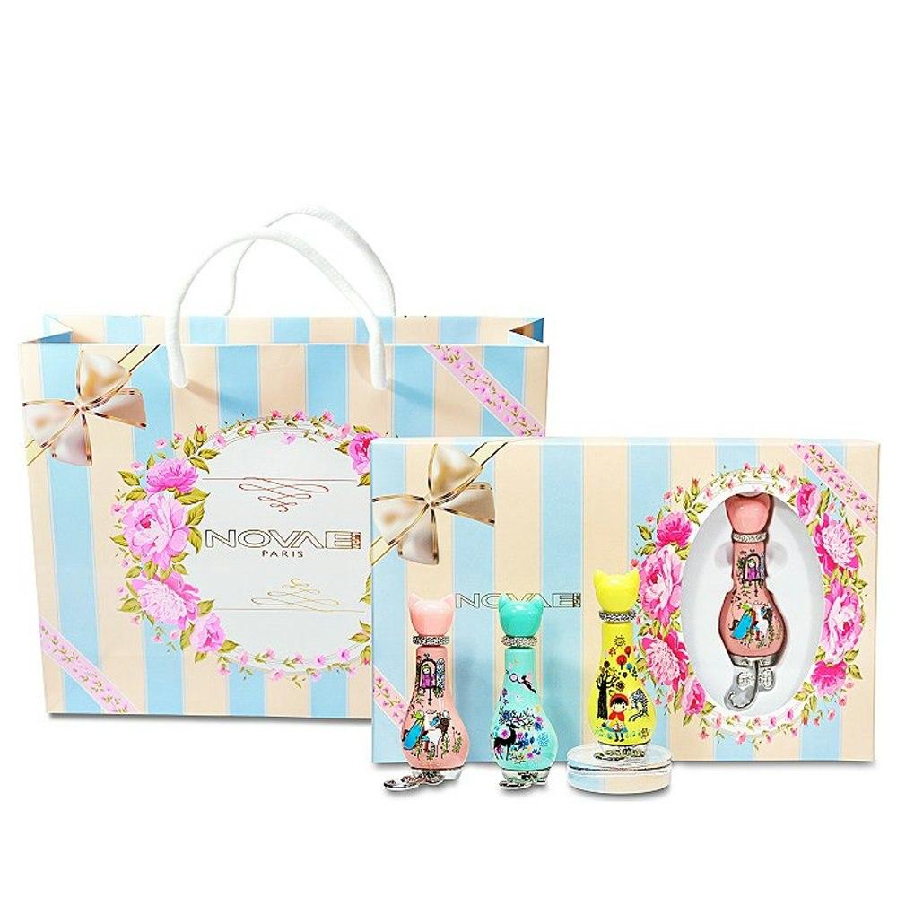 Novae Plus 甜蜜花園 - 夢幻款 香水禮盒 (12ml x 3) 包含原廠紙袋