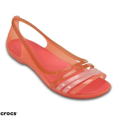Crocs 卡駱馳(女) 伊莎貝拉平底涼鞋-202463-689