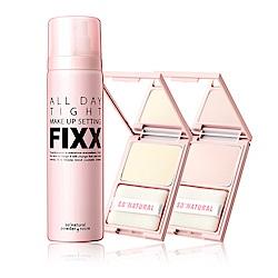 SO NATURAL FIXX全天候超完美定妝噴霧+蜜粉