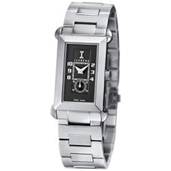 ICEBERG 舊愛新歡系列時尚腕錶-黑/22x34mm