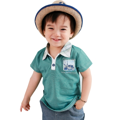魔法Baby 嬰幼兒POLO衫 k35155
