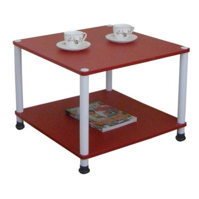 【MIT】60[寬]x60[深]/公分-收納邊桌[喜氣紅色]